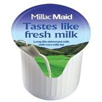 LAKELAND Full Fat Long Life Milk Pot 14ml PK120