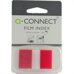 Q-CONNECT Q CONNECT PAGE MARKER 1IN 50 SHTS RED