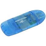 Astrotek AT-VCR-339 card reader Blue