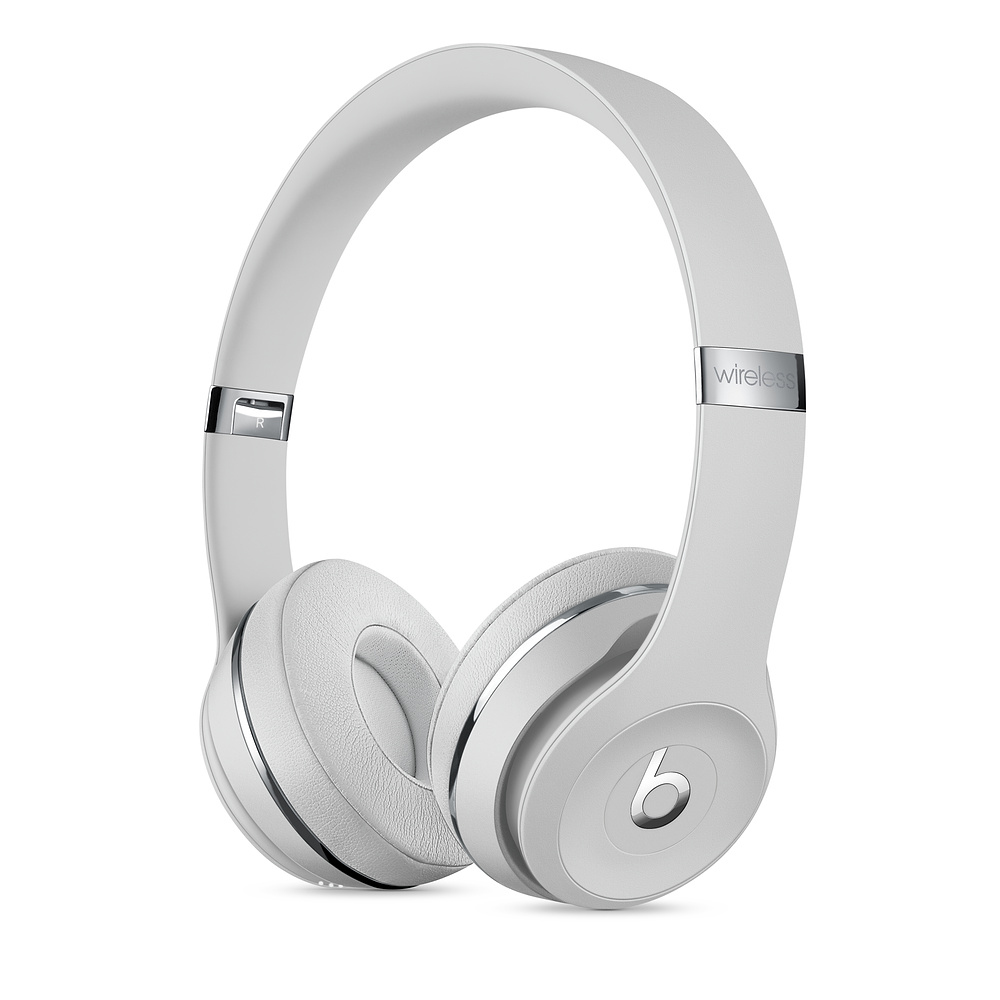 Apple Beats Solo3 mobile headset Binaural Head-band Silver Wired & Wireless