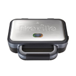 Breville VST041 Black,Stainless steel sandwich maker