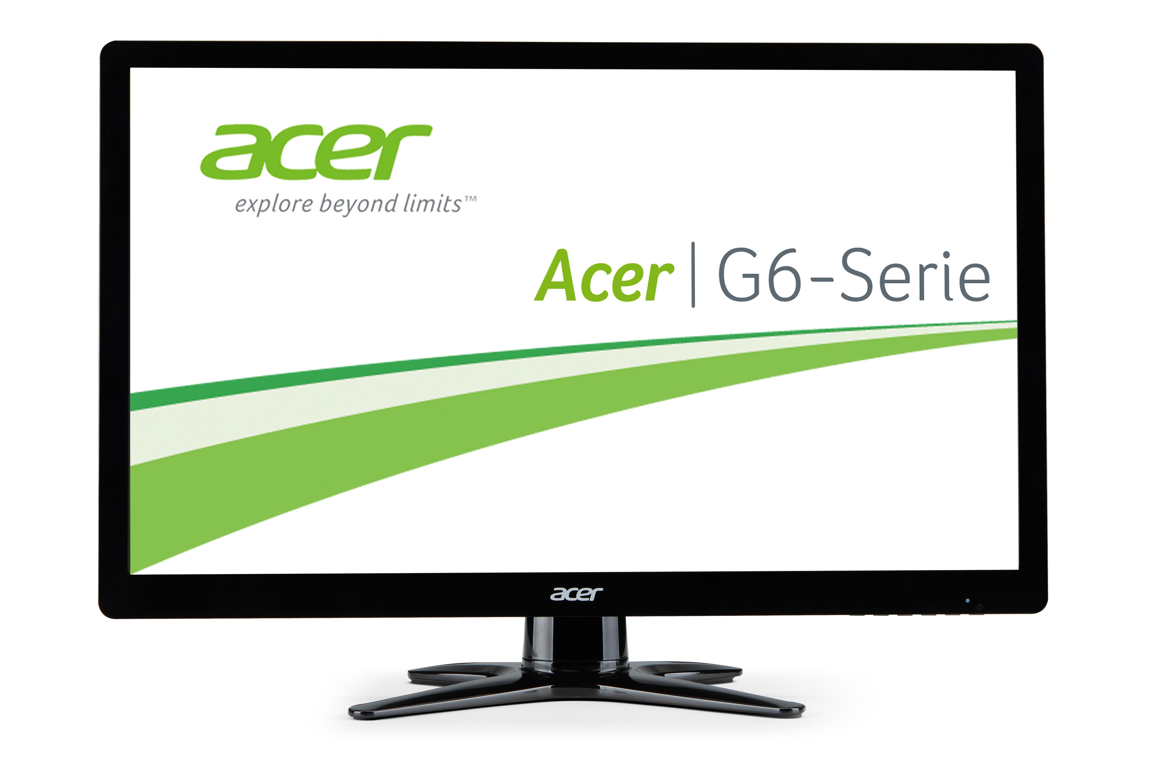 """Acer G6 G276HLAbid 27"""" Black Full HD"""