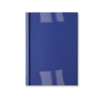 GBC LeatherGrain Thermal Binding Covers 3mm Royal Blue (100)