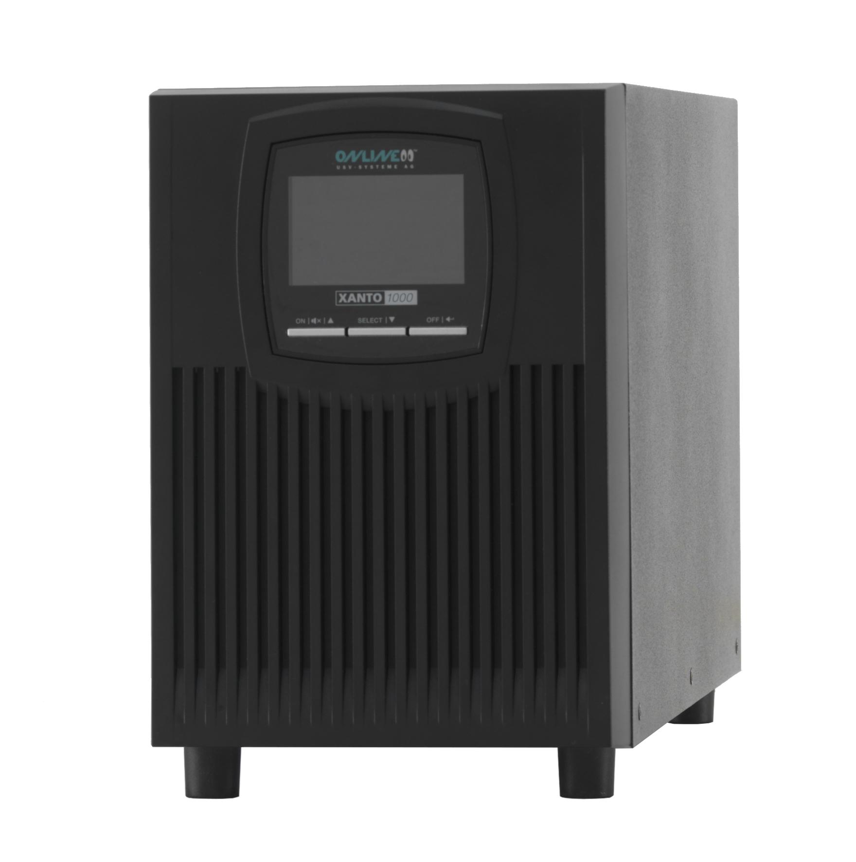 ONLINE USV-Systeme XANTO 1000 uninterruptible power supply (UPS) Double-conversion (Online) 1000 VA