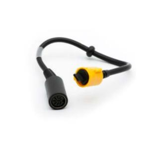 Zebra P1031365-052 Black,Yellow cable interface/gender adapter