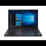 "Lenovo ThinkPad E15 Black Notebook 15.6"" 1920 x 1080 pixels 10th gen Intel® Core™ i3 8 GB DDR4-SDRAM 1000 GB HDD Windows 10 Pro"