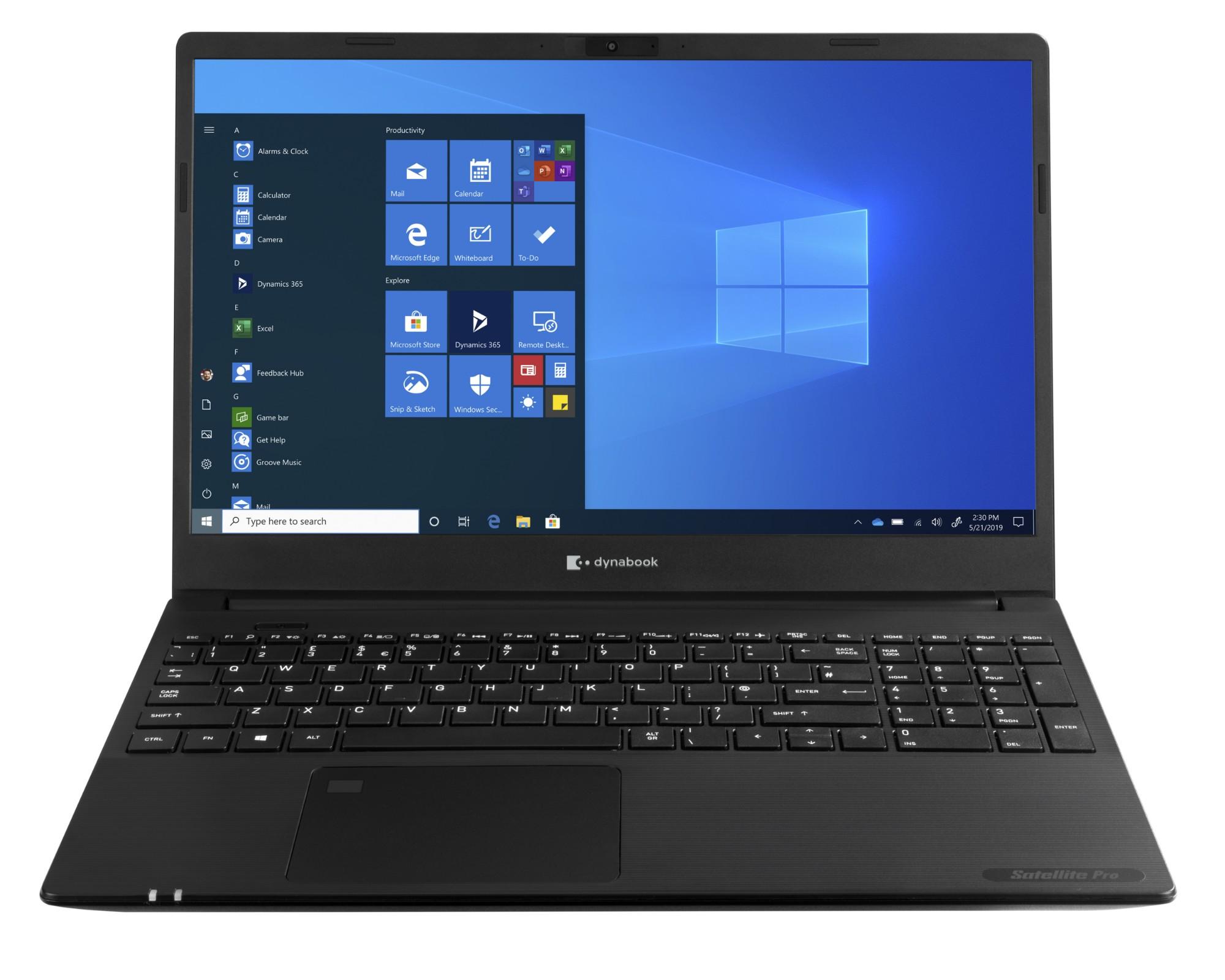 Satellite Pro L50-g-132 Black - 15.6in - i5 10210u - 8GB Ram - 256GB SSD - Win10 Pro - Qwerty Uk