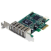 StarTech.com 7 Port PCI Express Low Profile High Speed USB 2.0 Adapter Card interface cards/adapter