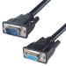Connekt Gear 3M Superior VGA Monitor Extension Cable Male to Female Fully Wired (Black)