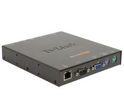 D-Link 1-port IP KVM switch Black