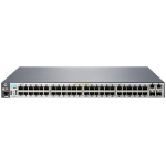 Hewlett Packard Enterprise Aruba 2530 48 PoE+ Managed L2 Gigabit Ethernet (10/100/1000) Power over Ethernet (PoE) 1U Grey