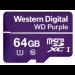 Western Digital Purple memory card 64 GB MicroSDXC Class 10