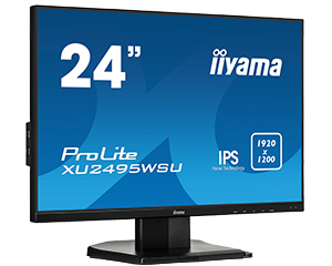 "iiyama ProLite XU2495WSU-B1 24.1"" Full HD LED Flat Black computer monitor"