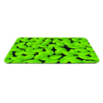Trust 21052 Black, Green mouse pad