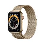 Apple Watch Series 6 OLED 44 mm Gold 4G GPS (satellite)