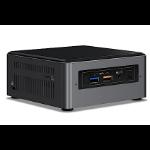 INTEL ULTRA MINI NUC PC, i3-7100U, 4GB(1/2), 256GB SSD, WL-AC, W10P , 3YR NBD