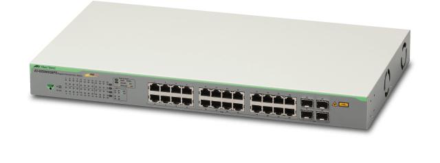 Allied Telesis GS950/28PS Gestionado Gigabit Ethernet (10/100/1000) Gris Energía sobre Ethernet (PoE)
