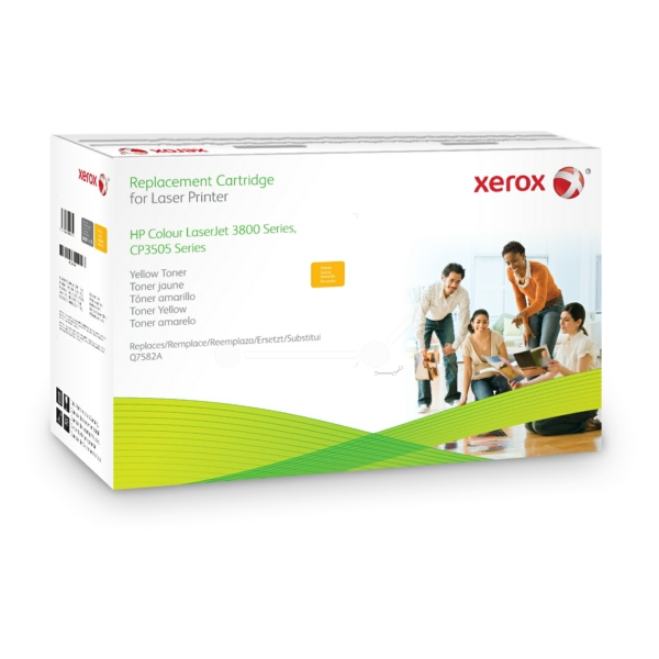 Xerox 003R99761 compatible Toner yellow, 6K pages @ 5% coverage (replaces HP 503A)