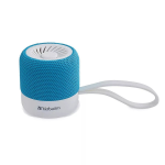 Verbatim 70231 portable speaker 3 W Stereo portable speaker Blue,White