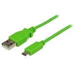 StarTech.com Micro-USB-kabel 1 m, groen