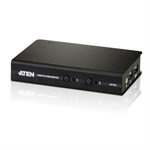ATEN 2 Port USB 2.0 DVI / Audio Slim KVM Switch Support HDCP, Video DynaSync, Single Link, Audio, Mouse e