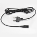 Toshiba 2-Pin Power Cord Euro 1.80m