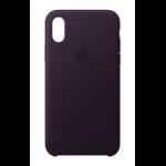 "Apple MQTG2ZM/A mobile phone case 14.7 cm (5.8"") Skin case Aubergine"