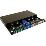 Videk 3558-8 LC 1pc(s) Black fiber optic adapter