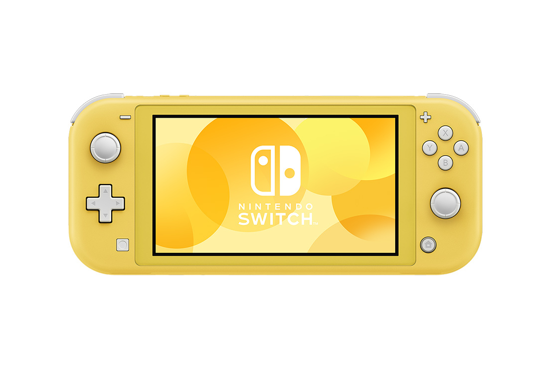 "Nintendo Switch Lite portable game console 14 cm (5.5"") 32 GB Touchscreen Wi-Fi Yellow"