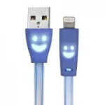 Ginga GI15CLUMIP5-AZ 1m USB A Lightning Azul cable USB