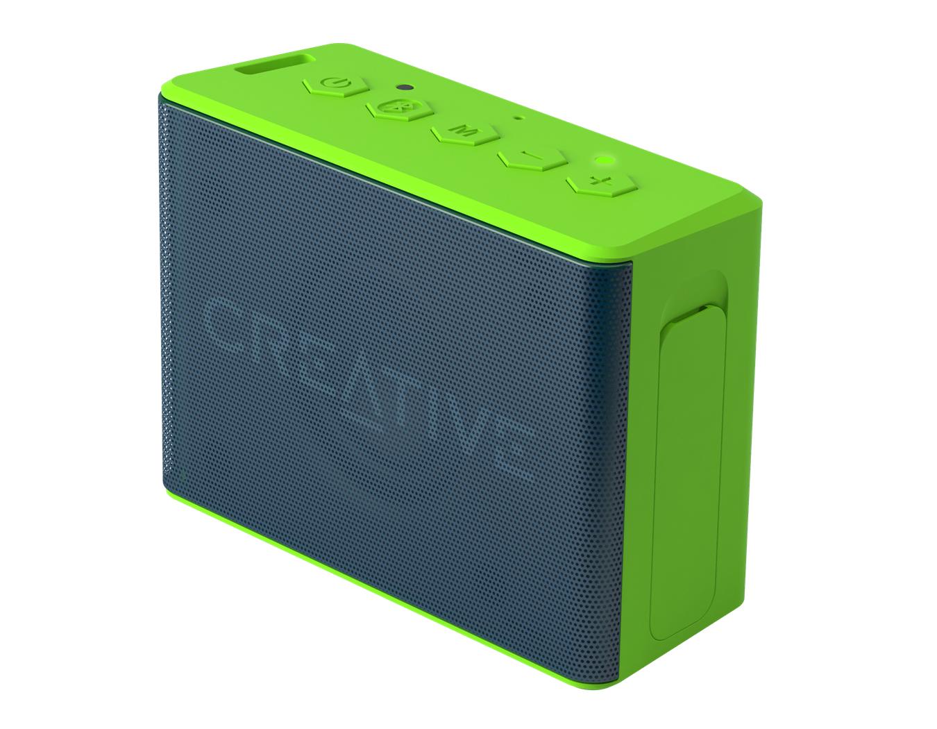 CREATIVE LABS 51MF8250AA003 MUVO 2C STEREO PORTABLE SPEAKER GREEN