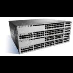 Cisco Catalyst WS-C3850-48P-E netwerk-switch Managed Zwart, Grijs Power over Ethernet (PoE)