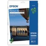 Epson Premium Semigloss Photo Paper, DIN A4, 251g/m², 20 Vel