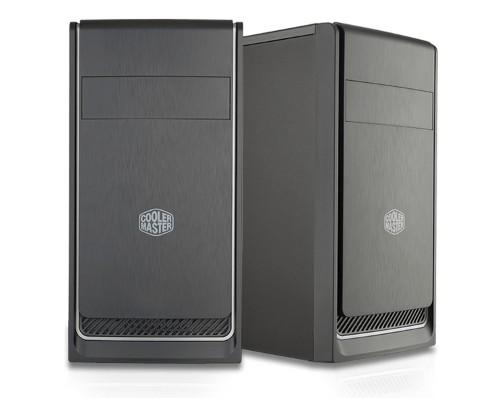 Cooler Master MasterBox E300L Mini-Tower Black, Silver computer case