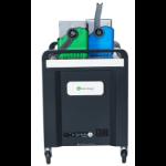 lockncharge Carrier 40 Portable device management cart Black, Blue, Green, Grey