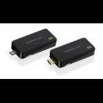 iogear GWHDKIT11C AV extender AV transmitter & receiver Black