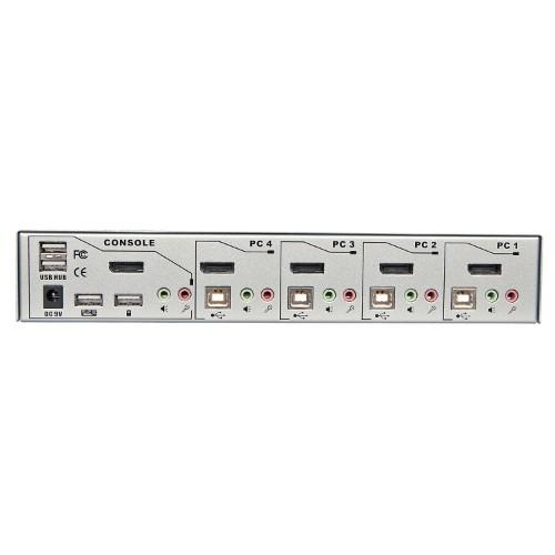 Lindy 39305 KVM switch Silver