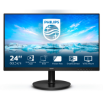 "Philips V Line 241V8LA/00 LED display 60.5 cm (23.8"") 1920 x 1080 pixels Full HD Black"