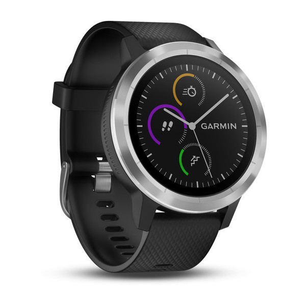 Garmin vívoactive 3 Touchscreen Bluetooth Black, Silver sport watch
