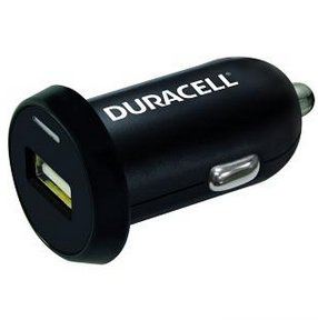 Duracell DR5020A Auto Black mobile device charger