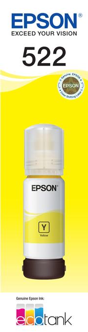 EPSON 522 Yellow Ink Bottle - ET-2710