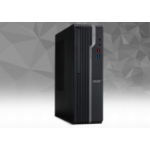 Acer Veriton X X4220G AMD Ryzen 5 2400G 8 GB DDR4-SDRAM 256 GB SSD SFF Black PC Windows 10 Pro