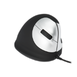 R-Go Tools R-Go HE Mouse, Ergonomic mouse, Medium (165-195mm), Right Handed, wired