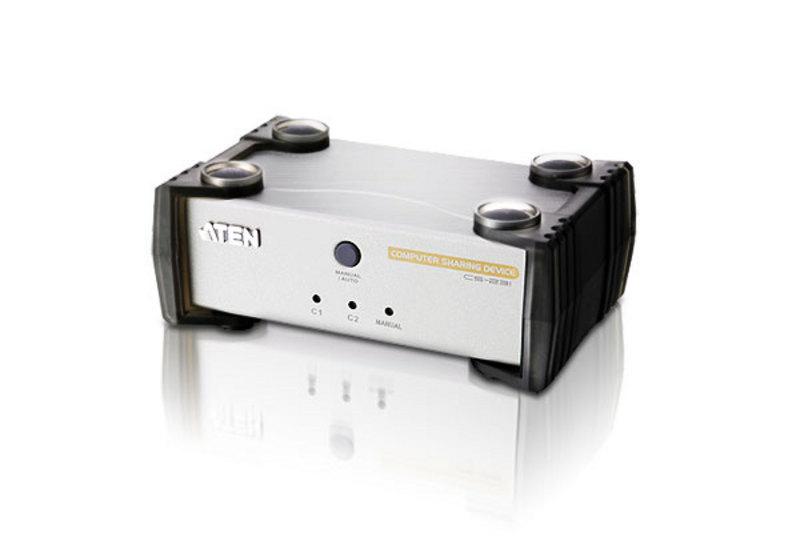 Aten 2 USB PORT REVERSE KVM (1 PC to 2 USB/PS2 Consoles)