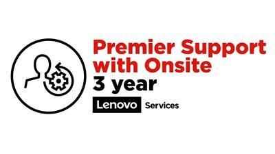 Lenovo 3 años Premier Support con In Situ