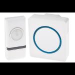 Proper Wireless Doorbell Wireless door bell kit White