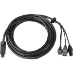 Axis 5506-191 signal cable 5 m Black