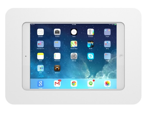 "Maclocks 250MROKW 7.9"" White tablet security enclosure"