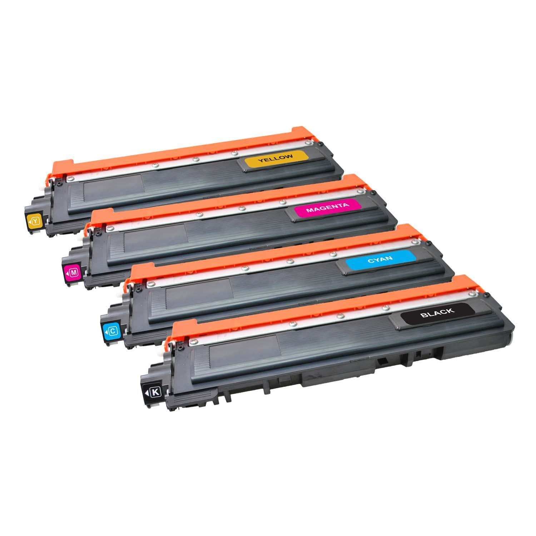 V7 Láser de tóner para ciertas impresoras Brother TN230BK/C/M/Y