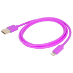 Urban Factory Cable USB to Lightning MFI certified - Purple 1m mobile phone cable